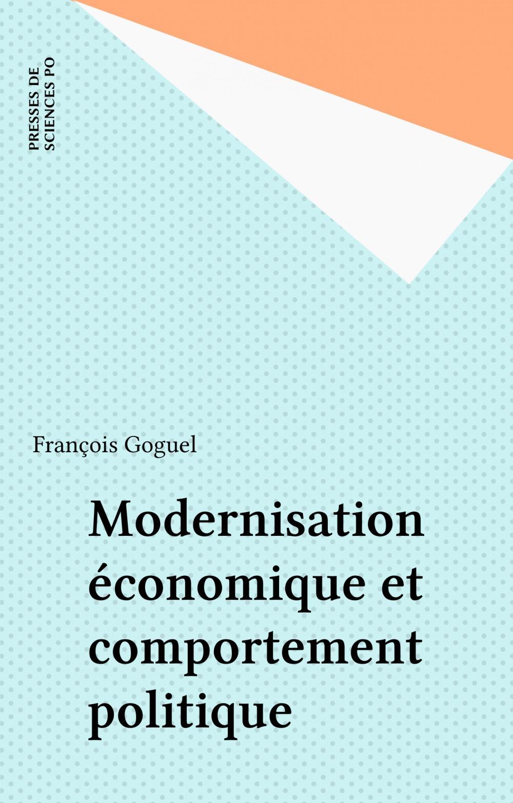 Modernisation économique et comportement politique