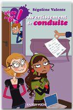 Vente Livre Numérique : Vive la 6e : Avertissement de conduite  - Ségolène Valente
