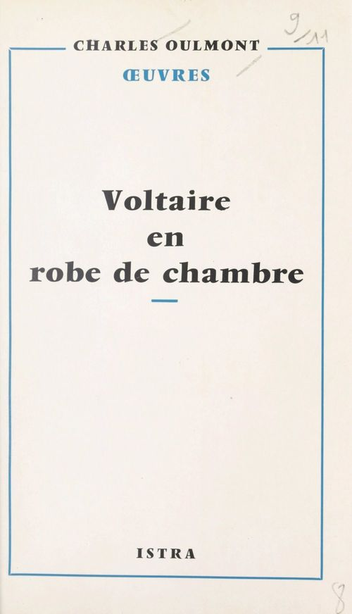 Voltaire en robe de chambre