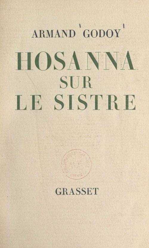 Hosanna sur le sistre