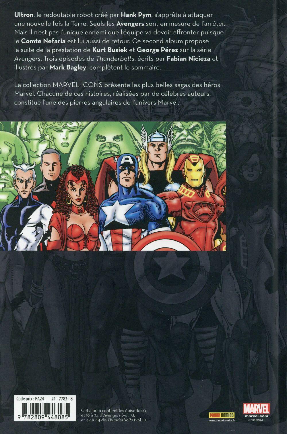 Avengers par Busiek et Perez T.2