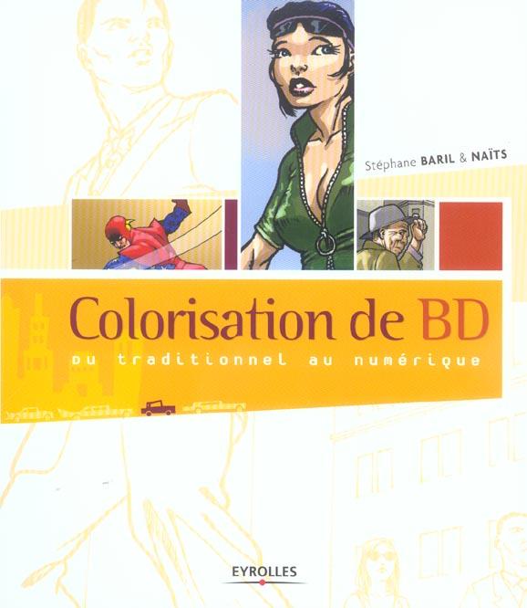 Colorisation de bd du traditionnel au numerique