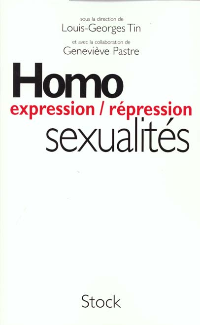 Homosexualite ; expression ; repression