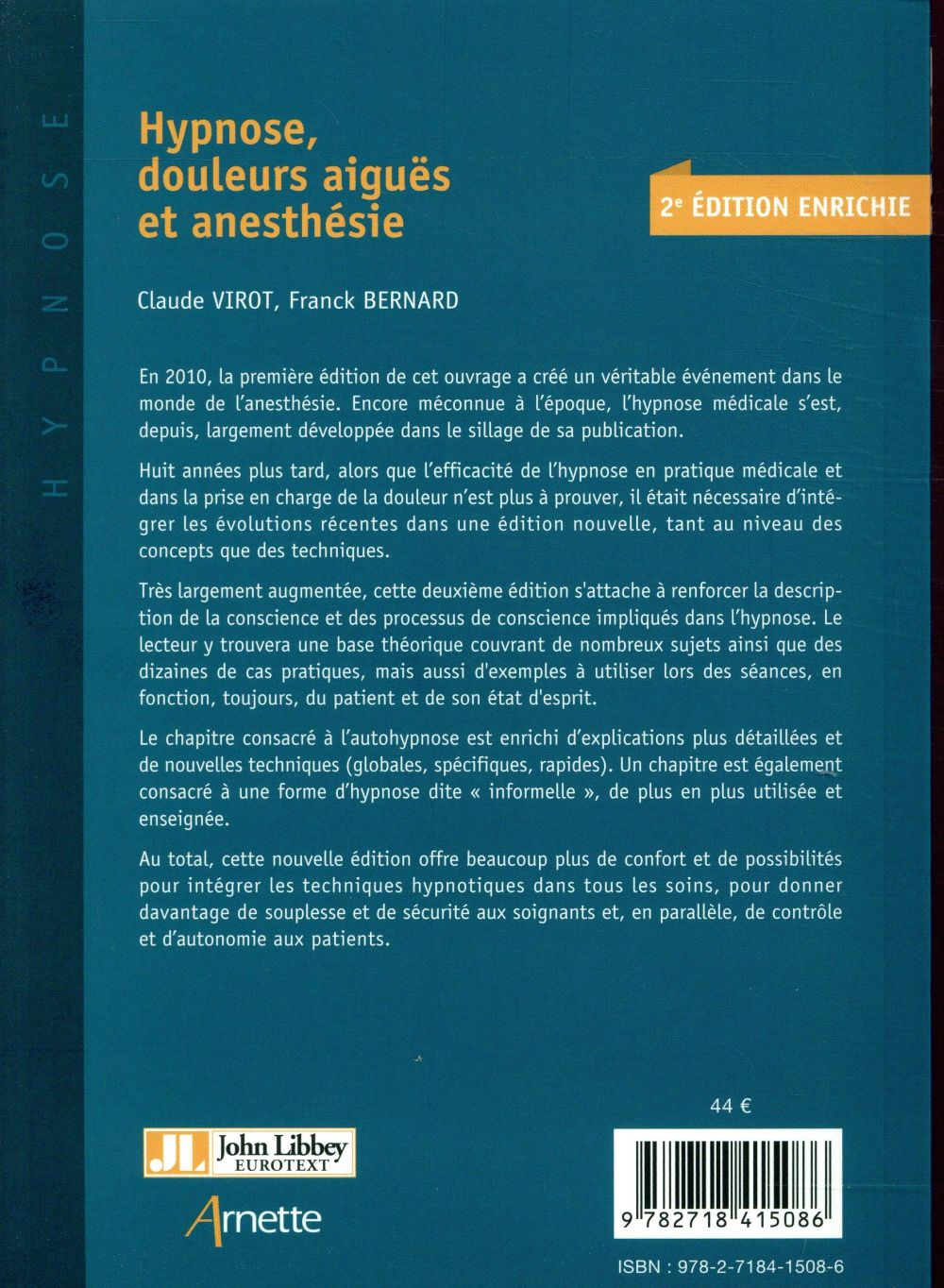 Hypnose douleurs aiguës et anesthésie
