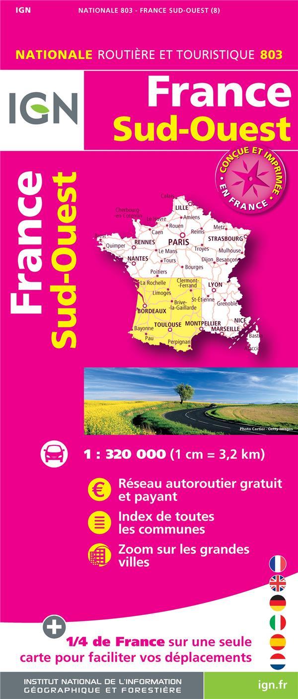 1M803 ; France Sud-Ouest (8e édition)