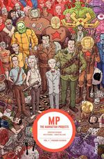 Vente Livre Numérique : MANHATTAN PROJECTS - Tome 1 - MANHATTAN PROJECTS tome 1  - Jonathan Hickman