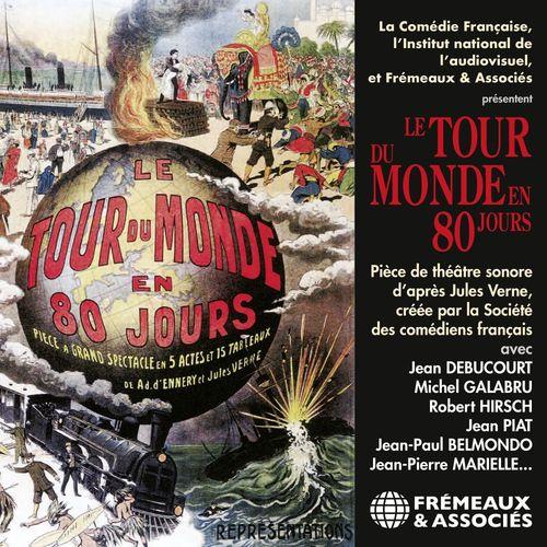 Vente AudioBook : Le tour du monde en 80 jours  - Jules Verne