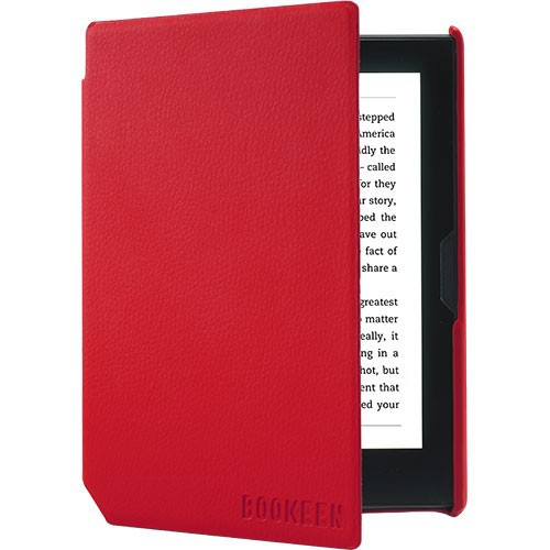 Couverture Cybook Muse - Rouge Vermillon