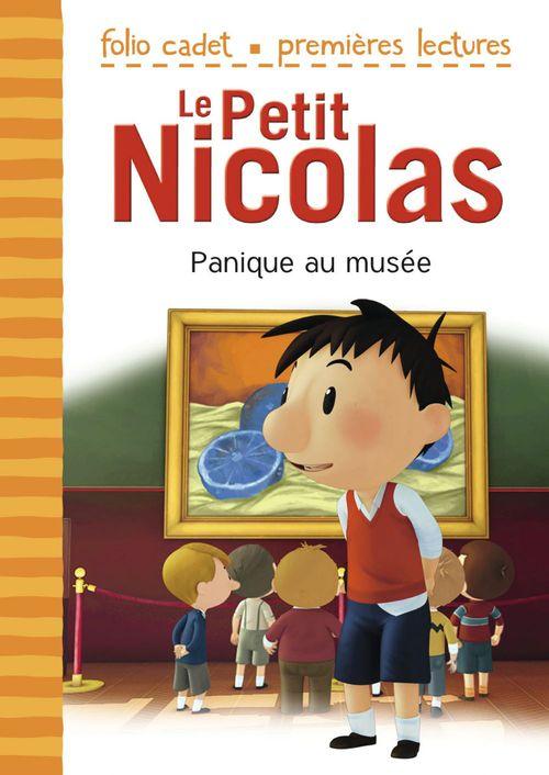Le petit Nicolas T.10 ; panique au musée