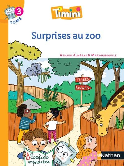 Timini T.3 ; surprise au zoo ; CP (édition 2020)