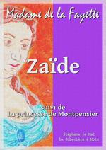 Vente Livre Numérique : Zaïde  - Madame de LA FAYETTE