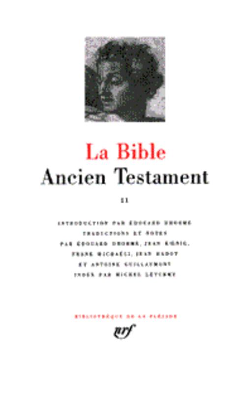 La bible ; ancien testament t.2