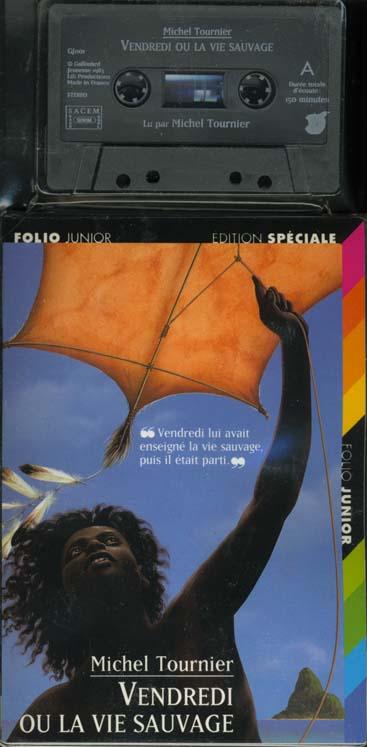 Vendredi Ou La Vie Sauvage Michel Tournier Gallimard Jeunesse Livre Cassette Librairie Autrement St Denis