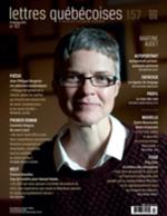 Vente Livre Numérique : Lettres québécoises. No. 157, Printemps 2015  - Martine Audet - André Brochu - Jean - Caron Jean-François - Marc André Brouillette - Catherine, Mavrikakis, - Isabelle, Beaulieu,