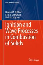 Ignition and Wave Processes in Combustion of Solids  - Michail I. Alymov - Nickolai M. Rubtsov - Boris S. Seplyarskii