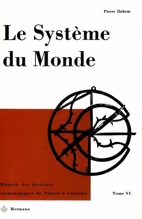 Système du monde t.4 ; refus de l'aristotélisme n.1