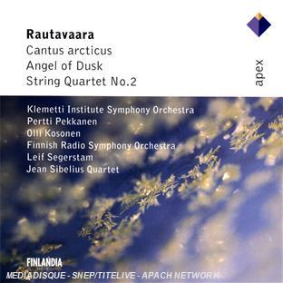 cantus arcticus - angel of dusk - quatuor à cordes n°2