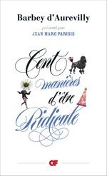 Vente Livre Numérique : Cent manières d'être ridicule  - Jules Barbey d'Aurevilly