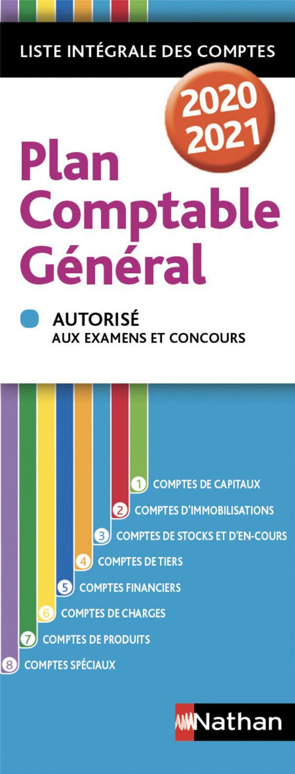 Plan comptable général (édition 2020/2021)