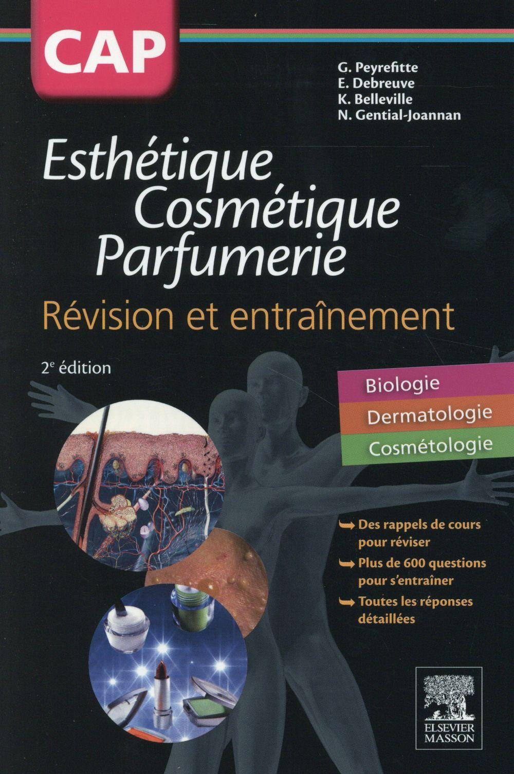 Cap esthétique ; cosmétique ; parfumerie (2e édition)