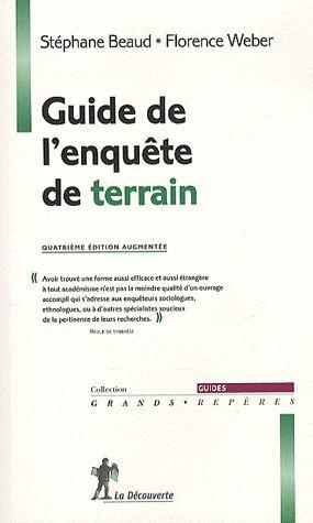 Guide de l'enquête de terrain (4e édition)