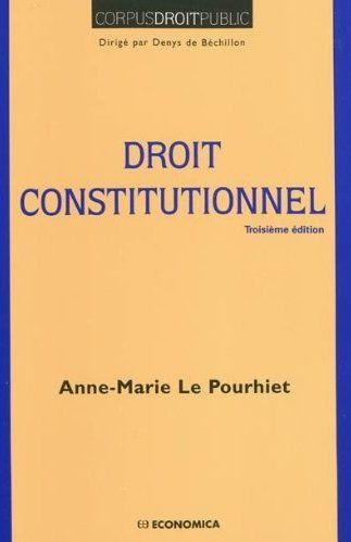 Droit constitutionnel (2e édition)