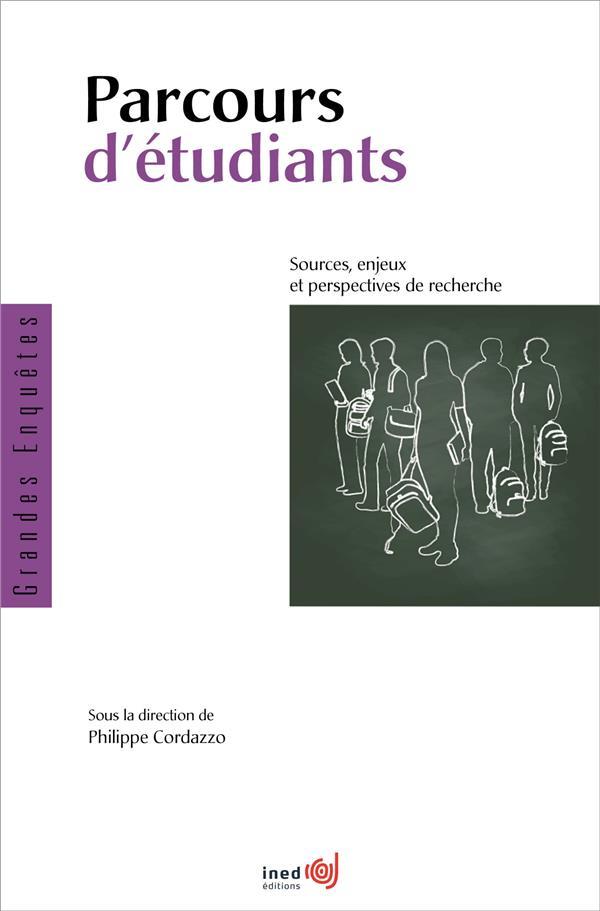 Parcours d'etudiants. sources, enjeux et perspectives de recherche