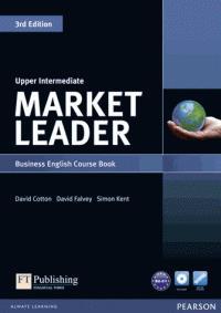 Market leader 3rd ed upper intermediate course bookw/dvd rom