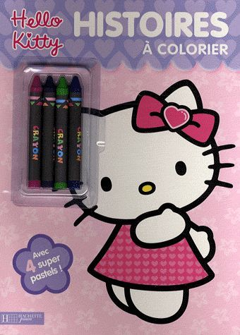Hello Kitty ; Histoires A Colorier