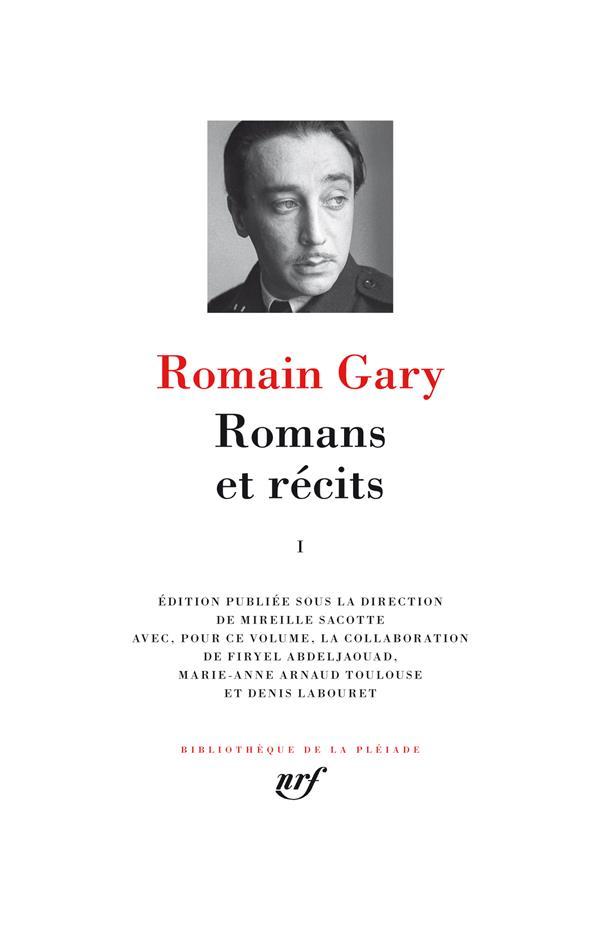 romans et récits t.1