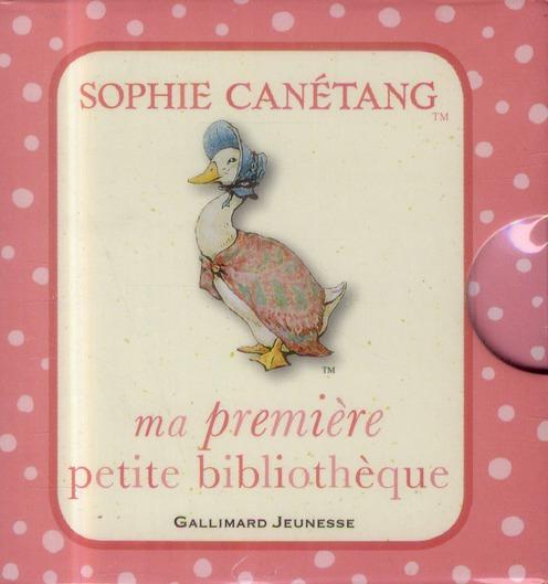 Ma premiere petite bibliothèque Sophie Canétang