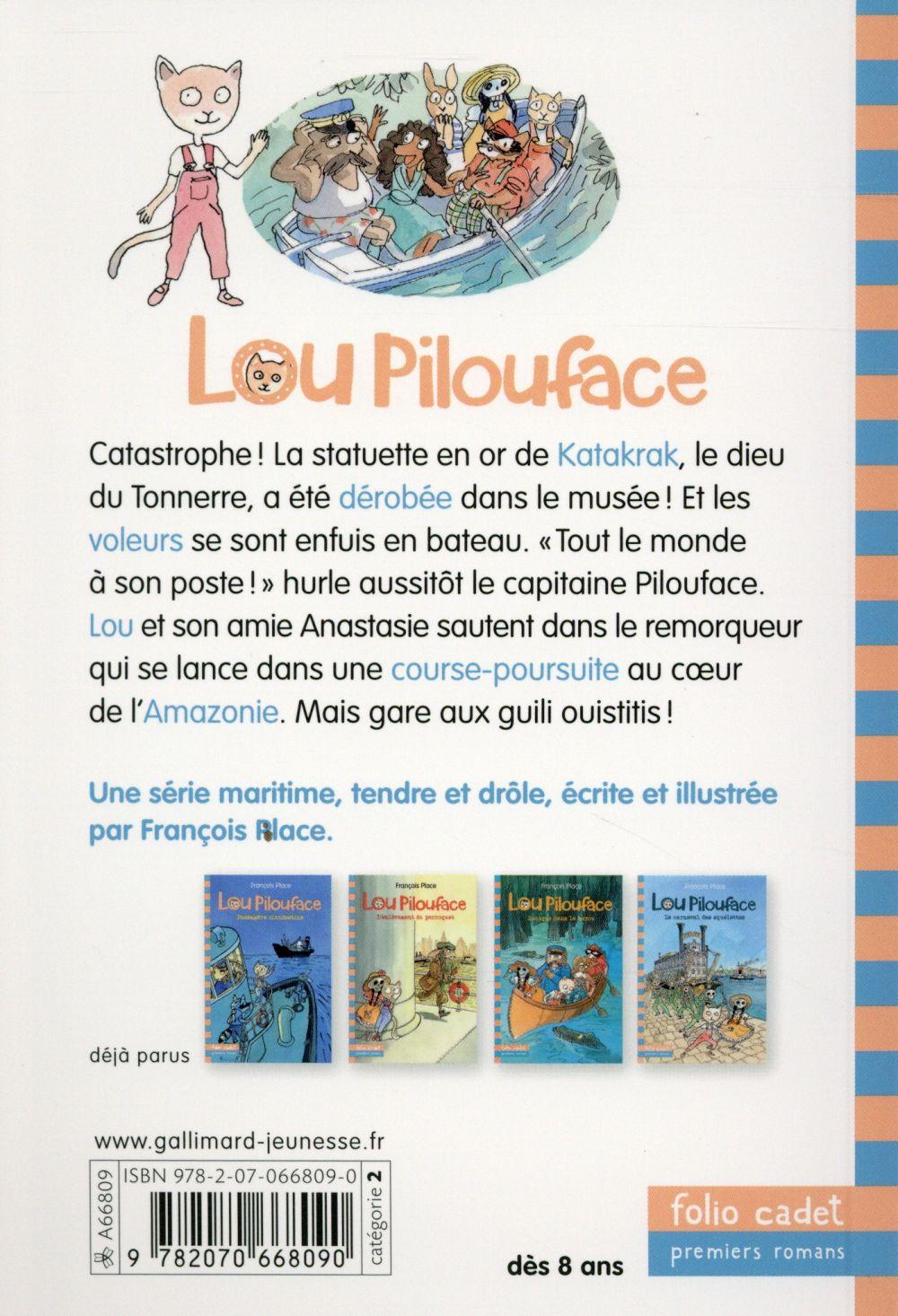 Lou Pilouface T.5 ; le dieu du tonnerre