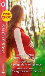 Vente EBooks : Après une nuit d'été ; le piège de la vengeance ; l'orage des sentiments  - Brenda Jackson - Charlene Sands - Elizabeth Bevarly