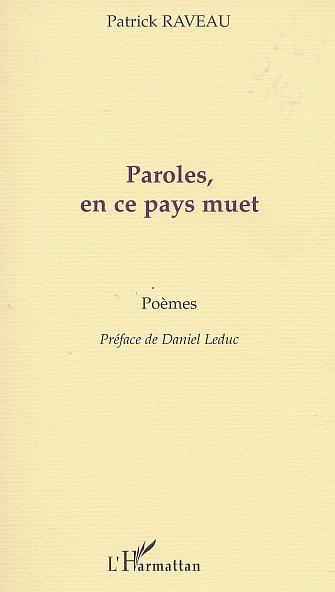 PAROLES, EN CE PAYS MUET
