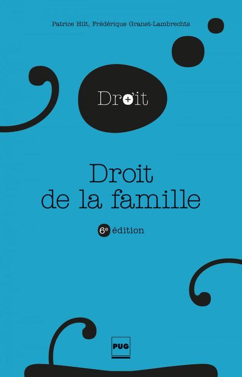 Droit de la famille (6e édition)