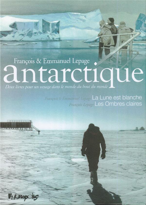 Antarctique ; coffret ; la lune est blanche ; les ombres claires