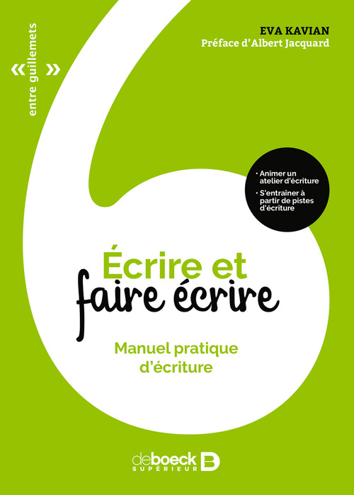 écrire et faire écrire ; manuel pratique d'écriture (3e édition)