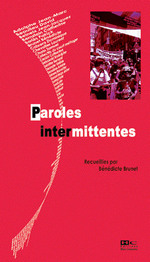 Couverture de Paroles intermittentes
