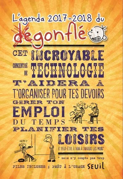 L'Agenda Du Degonfle (Edition 2017/2018)