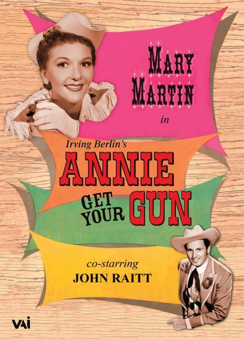 Irving Berlin : Annie get your gun, comédie musicale