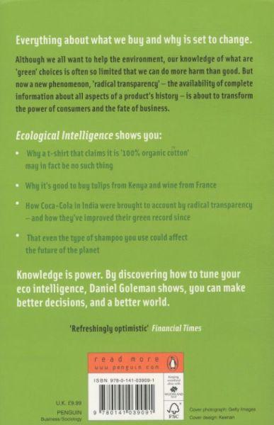 Ecological intelligence: the coming age of radical transparency