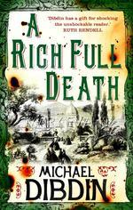Vente Livre Numérique : A Rich Full Death  - Michael Dibdin