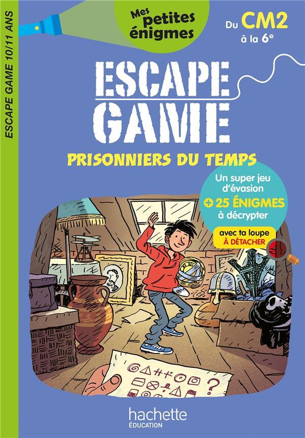 ESCAPE GAME  -  PRISONNIERS DU TEMPS  -  DU CM2 A LA 6E LEROY-JOUENNE/FRECON