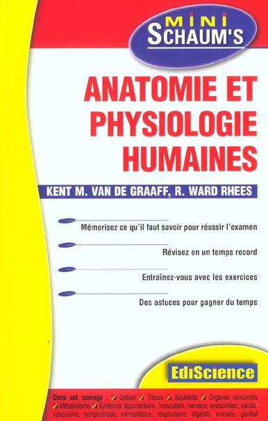 Anatomie Et Physiologie Humaines - L'Essentiel Du Cours, Des Astuces Et Des Exercices Corriges
