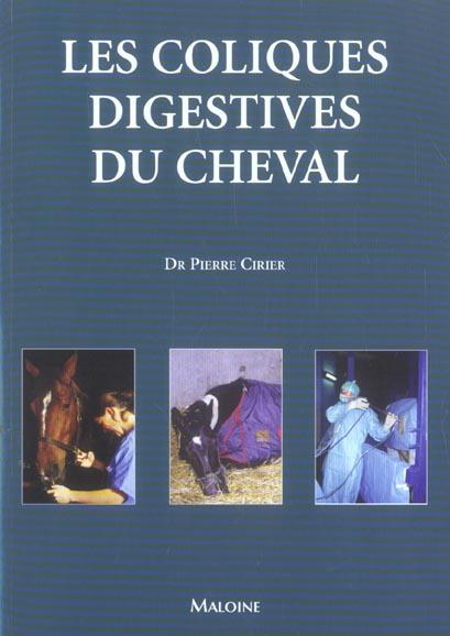 Les Coliques Digestives Du Cheval