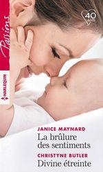 Vente EBooks : La brûlure des sentiments - Divine étreinte  - Janice Maynard - Christyne Butler