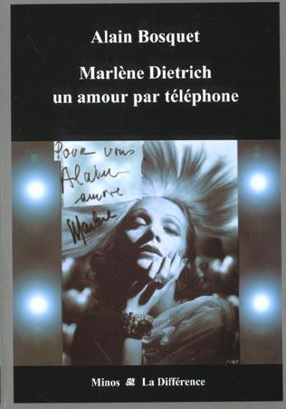 Marlene dietrich un amour par telephone