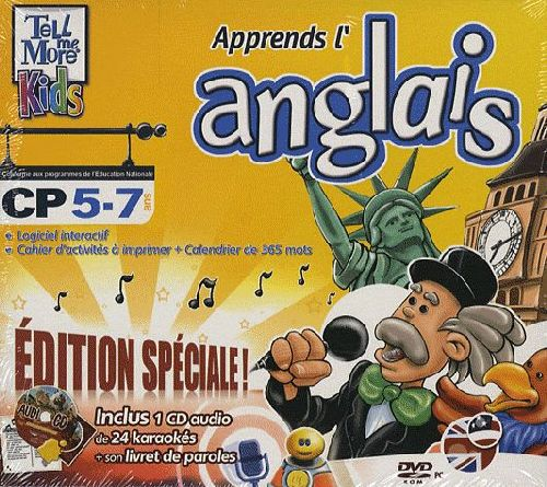 Tell me more kids ; apprends l'anglais, CP