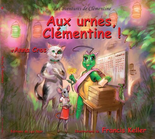 Les aventures de Clémentine ; aux urnes Clémentine !