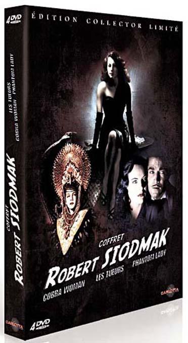 Robert Siodmak - Coffret : Les tueurs + Phantom Lady + Cobra Woman